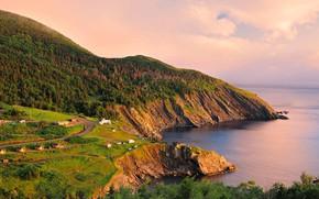 Обои Канада, Новая Шотландия, остров Кейп-Бретон