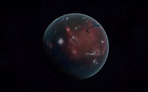 Картинка space, planet, mars