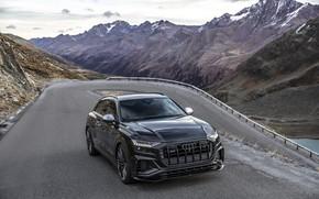 Картинка горы, Audi, TDI, кроссовер, ABT, 2019, SQ8