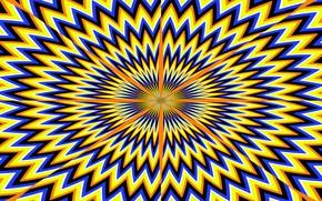 Картинка Линии, Иллюзия, Оптическая иллюзия, Обман зрения
