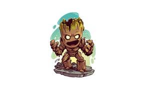 Картинка Guardians of the Galaxy, Groot, Derek Laufman