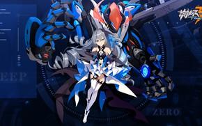 Картинка девушка, игра, аниме, Honkai Impact 3rd