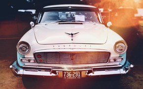 Картинка машина, фон, 1956 Chrysler