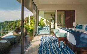Картинка комната, интерьер, спальня, Guest-Villa-Samira