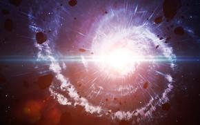 Картинка Big Bang, energy, rendering