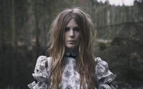 Картинка black metal, Myrkur, nordic folk, Амалия Бруун, блэк-метал, Danish musician and actress, нордик-фолк, датская певица …