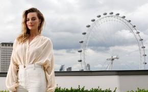 Картинка актриса, колесо обозрения, Margot Robbie