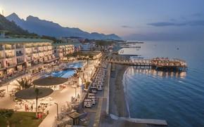 Картинка море, пляж, отдых, отель, Турция, Кемер, Grand Park Kemer