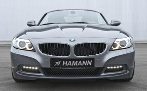 Картинка серый, BMW, родстер, Hamann, 2010, вид спереди, E89, BMW Z4, Z4