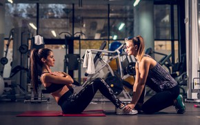 Картинка girls, workout, fitness, abs