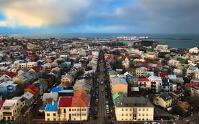 Картинка Iceland, Reykjavik, cityscape