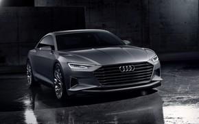 Картинка Concept, Audi, купе, Coupe, 2014, Prologue, передом