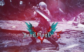 Картинка may, cry, Devil, devil may cry, dante, dmc, devil may cry 5, rebellion