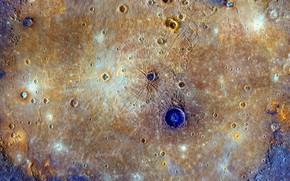 Картинка планета, Меркурий, Равнина Жары