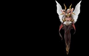 Картинка крылья, аниме, фэнтези, арт, ассасин, Mam BA, It's not an angel
