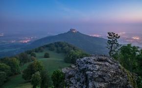 Картинка гора, Германия, Замок Гогенцоллерн
