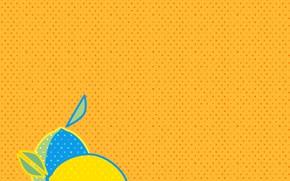 Картинка желтый, фон, текстура, лимоны