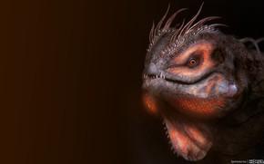 Картинка Dragon, Art, Concept Art, Reptile, Ignisaurus, by MICHAEL MICHERA, MICHAEL MICHERA