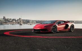 Обои Lamborghini, суперкар, 2018, Aventador, SVJ, Aventador SVJ
