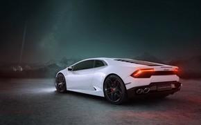 Картинка рендеринг, Lamborghini, суперкар, CGI, Huracan