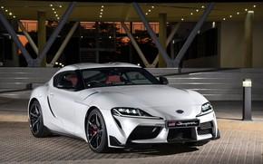 Картинка Белый, Toyota, 2019, GR Supra