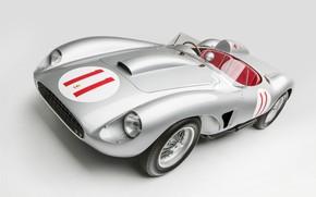 Картинка Ferrari, Classic, 1957, Classic car, Sports car, Ferrari 625 TRC