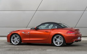 Картинка крыша, стена, BMW, родстер, сбоку, 2013, E89, BMW Z4, Z4, sDrive35is