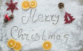 Обои снег, украшения, Новый Год, Рождество, Christmas, winter, snow, New Year, decoration, Merry