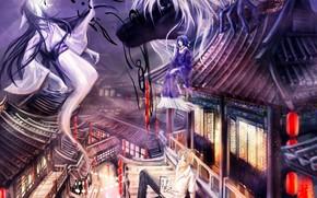 Картинка призраки, Natsume Yuujinchou, ёкай, Тетрадь дружбы Натсуме