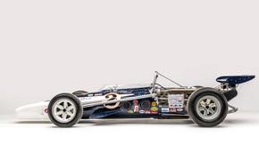 Картинка Колеса, Профиль, 1971, Eagle, Болид, Classic car, Sports car, Indianapolis 500, Indianapolis 500-Mile Race, AAR …