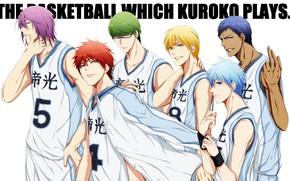 Картинка спорт, аниме, арт, команда, парни, Баскетбол Куроко, Kuroko no Baske
