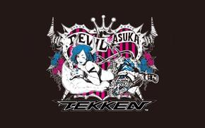 Картинка девушка, лежит, Tekken Tag Tournament 2, Asuka Kazama