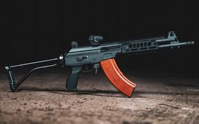 Картинка оружие, Автомат, Gun, weapon, кастом, глушитель, Custom, Штурмовая винтовка, Assault Rifle, silencer, Galil, Галил