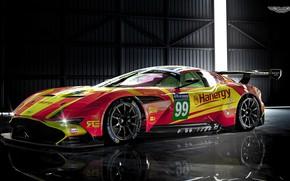 Обои Aston Martin, Авто, Le Mans, Машина, Рендеринг, GTE, Спорткар, Vulcan, Aston Martin Vulcan, Benoit Fraylon, ...
