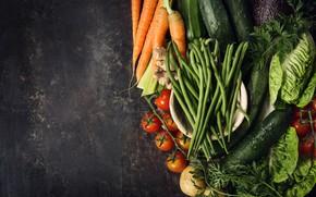 Картинка зелень, Овощи, морковь