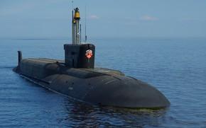 Картинка подводный, крейсер, атомный, ракетный, вмф, владимир мономах, проект 955а
