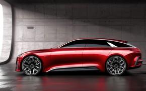 Картинка Concept, вид спереди, Kia, 2017, Proceed