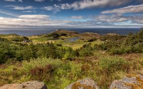 Картинка побережье, Норвегия, Sogn og Fjordane, Vågsøy