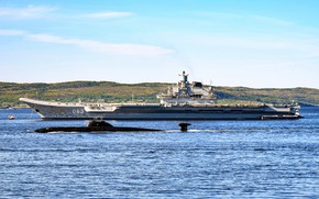 Картинка корабли, Адмирал Кузнецов, Обнинск