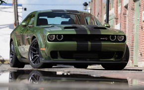 Картинка Dodge Challenger, Hellcat, SRT, Redeye Widebody, Dodge Challenger SRT Hellcat Redeye Widebody