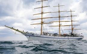 Картинка корабль, черное море, парусный, учебный, херсонес