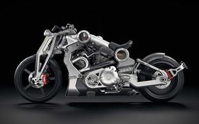 Картинка мотоцикл, байк, motorcycle, Confederate, superbike, Confederate G2 P51