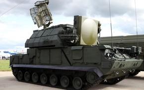 Картинка радар, демонстрация, ПВО России, ЗРК 9К331 Тор-М1