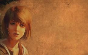 Обои взгляд, девушка, рисунок, арт, Life is Strange, Макс Колфилд, Max Caulfield