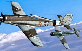 Картинка Dora, Military Aircraft, Fw.190D-9, ''Schlageter'', II./JG26