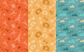 Картинка фон, текстура, vintage, style, patterns, travel