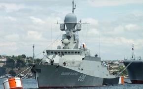 Картинка корабль, ракетный, малый, севастополь, вышний волочек, шифр буян