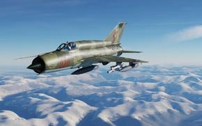 Картинка ОКБ МиГ, МиГ-21бис, Фронтовой истребитель, МиГ-21бис ННА ГДР