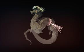 Картинка Дракон, Фон, Fantasy, Dragon, Mythology, Art, Фантастика, Characters, Monsters, Creatures, Мифология, Candice Sciortino, by Candice …
