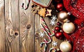 Картинка украшения, шары, Новый Год, Рождество, Christmas, balls, wood, New Year, decoration, xmas, Merry